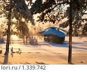 Купить «Муляж вертолета засыпанный снегом в лучах солнца», фото № 1339742, снято 3 января 2010 г. (c) Евдокимова Мария Борисовна / Фотобанк Лори