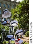 Головные уборы со символикой Санкт-Петербурга. Стоковое фото, фотограф Татьяна Князева / Фотобанк Лори