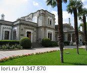 Купить «Юсуповский дворец, Крым, Кореиз», фото № 1347870, снято 6 сентября 2009 г. (c) ИВА Афонская / Фотобанк Лори