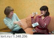 Купить «Конфликт», фото № 1348206, снято 5 января 2010 г. (c) Кристина Викулова / Фотобанк Лори