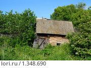 Купить «Старая баня», фото № 1348690, снято 12 июня 2009 г. (c) Михаил Коханчиков / Фотобанк Лори