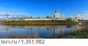 Вид на кремль и Троицкий собор. Панорама (2009 год). Редакционное фото, фотограф Валентина Троль / Фотобанк Лори