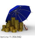Купить «Защита сбережений», иллюстрация № 1354942 (c) Ильин Сергей / Фотобанк Лори