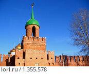 Башня одоевских ворот (2010 год). Редакционное фото, фотограф Дульнев Михаил / Фотобанк Лори