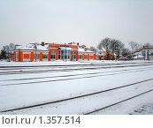 Железнодорожный вокзал г.Кобрин (2010 год). Стоковое фото, фотограф Вячеслав Киктев / Фотобанк Лори