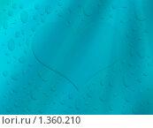 Водяное сердце. Стоковая иллюстрация, иллюстратор Дмитрий / Фотобанк Лори