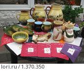 Латвия. Юрмала. Праздник Лиго. Сувениры из керамики (2008 год). Редакционное фото, фотограф Елена Носик / Фотобанк Лори
