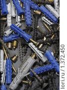 Купить «Шурупы с дюбелями», эксклюзивное фото № 1372450, снято 3 января 2010 г. (c) Дмитрий Нейман / Фотобанк Лори