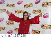 Купить «София Ротару», фото № 1387238, снято 15 декабря 2007 г. (c) Архипова Екатерина / Фотобанк Лори