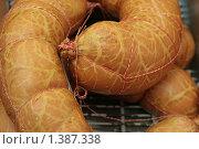 Колбаса говяжья. Стоковое фото, фотограф Аврам / Фотобанк Лори