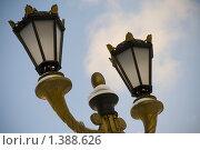 Фонарь и небо. Стоковое фото, фотограф Иван Веселов / Фотобанк Лори