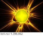 Купить «Абстракция. Солнце», иллюстрация № 1396062 (c) Vitas / Фотобанк Лори