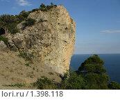 Крым, поселок Новый Свет. Гора Коба-Кая (2008 год). Стоковое фото, фотограф Андрей Спирин / Фотобанк Лори