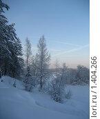 Купить «Берег реки зимой», фото № 1404266, снято 3 января 2010 г. (c) Юлия Козинец / Фотобанк Лори