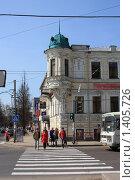 Старинное здание в центре Ярославля (2009 год). Редакционное фото, фотограф Галина Новикова / Фотобанк Лори