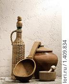 Купить «Кухонный натюрморт», фото № 1409834, снято 18 января 2010 г. (c) Толоконов Дмитрий Львович / Фотобанк Лори