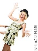 Купить «Деньги могут оставить вас на плаву», фото № 1414158, снято 12 декабря 2009 г. (c) Сергей Новиков / Фотобанк Лори