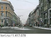 Купить «Зимний Петербург, Невский проспект», фото № 1417078, снято 11 января 2010 г. (c) Александр Секретарев / Фотобанк Лори