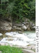 Водные пороги. Стоковое фото, фотограф Кайсина Юлия / Фотобанк Лори