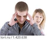 Купить «Семейная ссора», фото № 1420638, снято 20 января 2010 г. (c) Татьяна Гришина / Фотобанк Лори