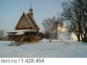 Купить «Суздаль, 2009», фото № 1428454, снято 22 декабря 2009 г. (c) Николай Богоявленский / Фотобанк Лори