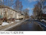 Купить «Город Петушки», фото № 1429914, снято 24 февраля 2008 г. (c) Николай Богоявленский / Фотобанк Лори