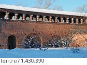 Купить «Москва. Крутицкое подворье», эксклюзивное фото № 1430390, снято 12 января 2010 г. (c) lana1501 / Фотобанк Лори