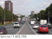 Купить «Севастопольский проспект в Москве», фото № 1432150, снято 27 августа 2009 г. (c) Юрий Синицын / Фотобанк Лори