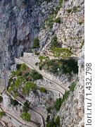 Купить «Виа Крупп на острове Капри, Италия», фото № 1432798, снято 7 октября 2009 г. (c) vale_t / Фотобанк Лори