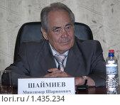 Купить «Президент республики Татарстан Минтимер Шаймиев», фото № 1435234, снято 30 июня 2008 г. (c) Александр Легкий / Фотобанк Лори