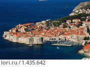 Купить «Панорама древнего  Дубровника, Хорватия», фото № 1435642, снято 17 сентября 2008 г. (c) Анастасия Богатова / Фотобанк Лори