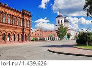 Купить «Богоявленский собор в Томске», фото № 1439626, снято 3 августа 2008 г. (c) Михаил Марковский / Фотобанк Лори