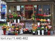 Купить «Цветочная лавка в Праге», фото № 1440482, снято 29 марта 2009 г. (c) Бельская (Ненько) Анастасия / Фотобанк Лори
