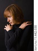 Купить «Девушка в черном», фото № 1442030, снято 30 января 2010 г. (c) Анна Лурье / Фотобанк Лори
