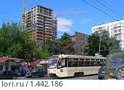 Купить «Москва. Первомайская улица», эксклюзивное фото № 1442186, снято 30 июня 2009 г. (c) lana1501 / Фотобанк Лори