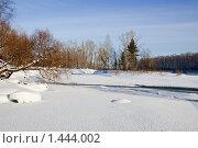 Замерзшая река зимой. Стоковое фото, фотограф djandre77 / Фотобанк Лори