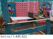 Купить «Ткацкий станок, Беларусь», фото № 1445422, снято 9 октября 2009 г. (c) Владимир Фаевцов / Фотобанк Лори