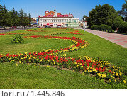 Купить «Парк и исторические здания в центре Томска», фото № 1445846, снято 18 июля 2009 г. (c) Михаил Марковский / Фотобанк Лори