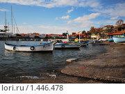 Лодки на приколе (2009 год). Стоковое фото, фотограф Константин Попов / Фотобанк Лори