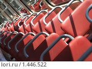 Купить «Сидения в старом трамвае», фото № 1446522, снято 13 июня 2009 г. (c) Бельская (Ненько) Анастасия / Фотобанк Лори