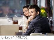 Купить «Свидание в ресторане», фото № 1448750, снято 14 января 2010 г. (c) Raev Denis / Фотобанк Лори