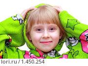 Маленькая белокурая девочка. Стоковое фото, фотограф Ольга Алиева / Фотобанк Лори