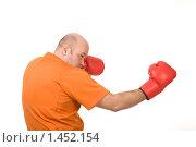 Купить «Боксер», фото № 1452154, снято 14 февраля 2009 г. (c) Валентин Мосичев / Фотобанк Лори