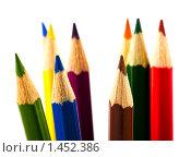 Цветные карандаши. Стоковое фото, фотограф Вадим Литвиненко / Фотобанк Лори