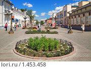 Купить «Пешеходная улица в центре Улан-Удэ», фото № 1453458, снято 27 июня 2019 г. (c) Михаил Марковский / Фотобанк Лори