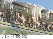 Сосульки. Санкт-Петербург (2010 год). Стоковое фото, фотограф Александр Алексеев / Фотобанк Лори