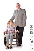 Купить «Счастливая пожилая пара», фото № 1455746, снято 19 января 2008 г. (c) Сергей Лаврентьев / Фотобанк Лори