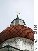 Купить «Уникальный храм на Секирной горе на острове Соловки», фото № 1455986, снято 12 августа 2008 г. (c) Parmenov Pavel / Фотобанк Лори