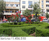 Прага - Вацлавская площадь (2008 год). Редакционное фото, фотограф Сергей Романюк / Фотобанк Лори