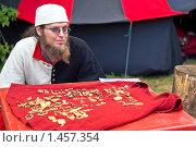 Купить «Торговец украшениями», фото № 1457354, снято 5 сентября 2009 г. (c) Игорь Митов / Фотобанк Лори